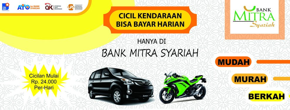 cicilan kendaraan bank mitra syariah