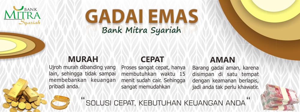 Gadai Emas Bank Mitra Syariah