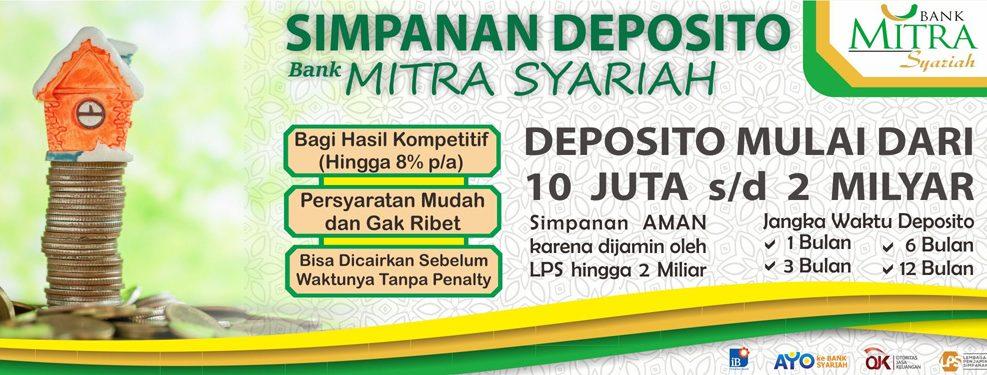 deposito bank mitra syariah